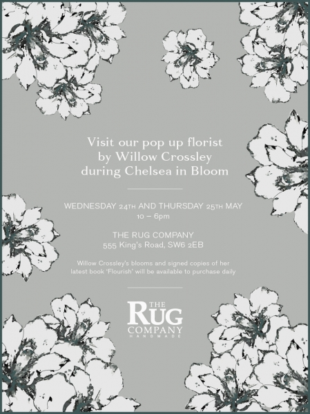 Pop Up Florist by Willow Crossley at The Rug Company